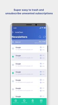 InstaClean keep your email inbox clean2