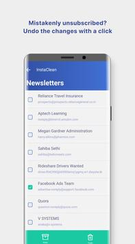 InstaClean keep your email inbox clean5