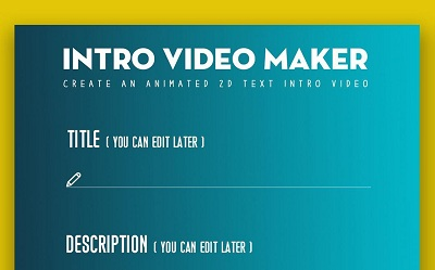 Intro Video Maker