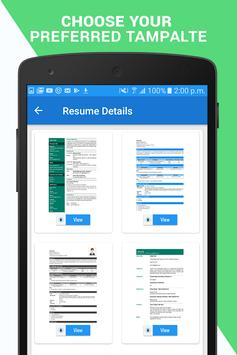 Professional Resume Maker CV builder PDF format1