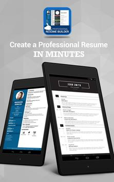Professional Resume Maker CV builder PDF format3