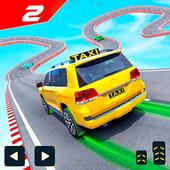 Taxi Jeep Car Stunts Games 3D Ramp Car Stunts