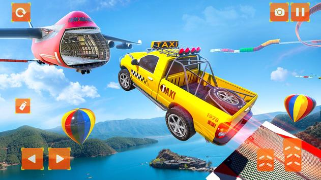 Taxi Jeep Car Stunts Games 3D Ramp Car Stunts3