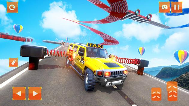 Taxi Jeep Car Stunts Games 3D Ramp Car Stunts4