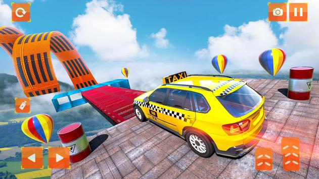 Taxi Jeep Car Stunts Games 3D Ramp Car Stunts5