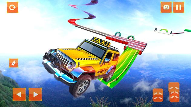 Taxi Jeep Car Stunts Games 3D Ramp Car Stunts6