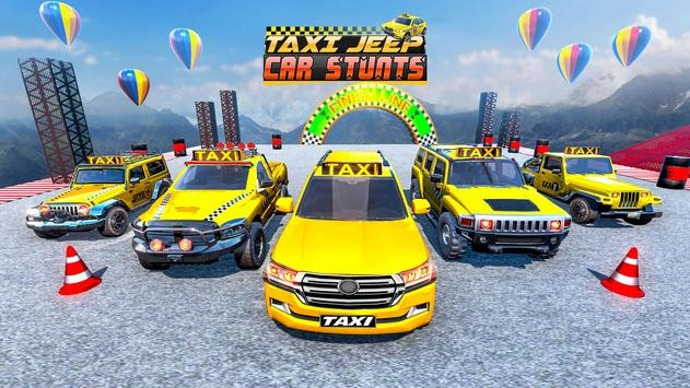 Taxi Jeep Car Stunts Games 3D Ramp Car Stunts7