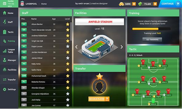 Top 10 Soccer Manager Hero Be football Champions5