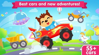 Car game for toddlers kids cars racing games
