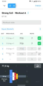 Strong Workout Tracker Gym Log 5 5 2