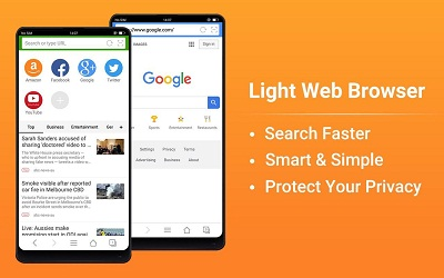 Web Browser Fast Private News