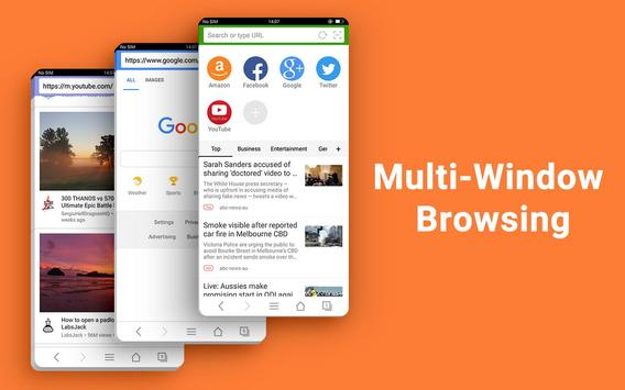 Web Browser Fast Private News11