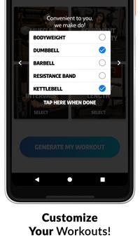Exerprise - Workout Generator5