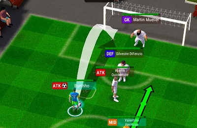 Football Tactics Arena Turn based Soccer Strategy