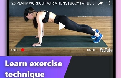 Plank-Workout-Fat-Burning-Home-Workout-for-Women