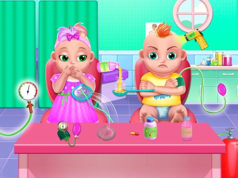 Pregnant Mommy And Twin Baby Care 3