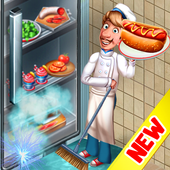 بازی Cooking Team Chef's Roger Restaurant Games