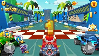 Fun Race Fire Go Kart Buggy Crash Racing Battle 5
