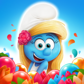 بازی Smurfs Bubble Story