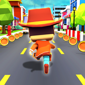 KIDDY-RUN-Blocky-3D-Running-Games-Fun-Games