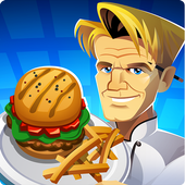 بازی RESTAURANT DASH: GORDON RAMSAY