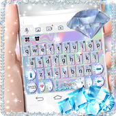 Shining-Diamond-Keyboard-Theme
